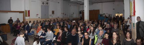 pubblico del teatro Vaccari